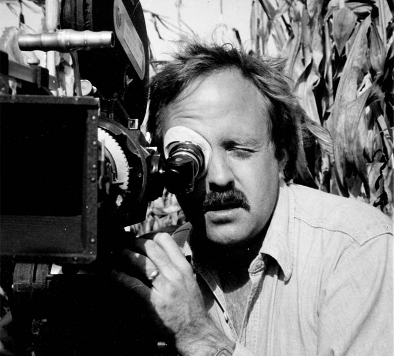 Robert hanley using a 16mm camera